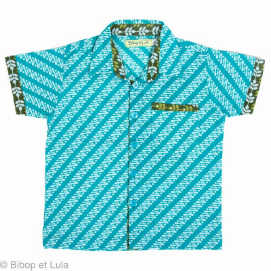 Chemise garçon 2-8 ans