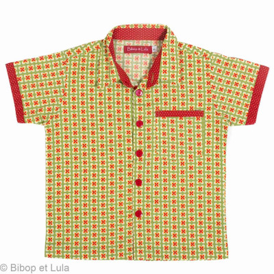 Chemise garçon coton