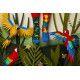 Socquettes Paradise Parrot
