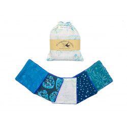Lingettes lavables Ice Blue