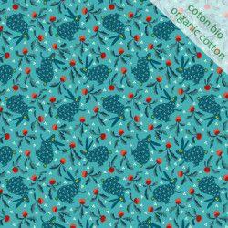 Coton Lapin bleu