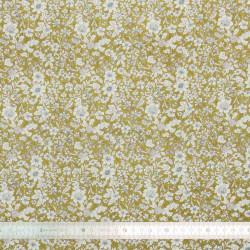 Tissu coton Small Garden Olive