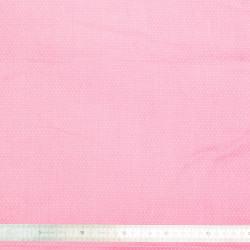 Tissu coton Pois rose