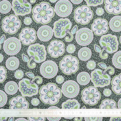 Tissu coton Atlantide