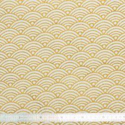 Tissu coton Nami Or