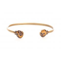 JONC, Bracelet, résine, motif Montserrat