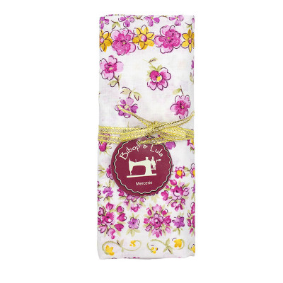 Coupon tissu English roses
