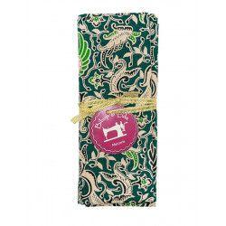 Coupon tissu Manado green