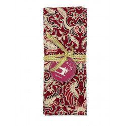 Coupon tissu Manado red