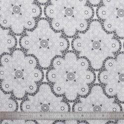 Tissu coton Brume