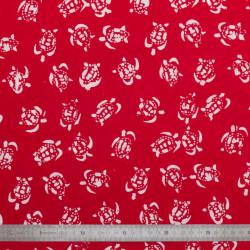 Tissu coton Tortues
