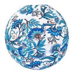 Lampion tissu boule japonaise rond Belem