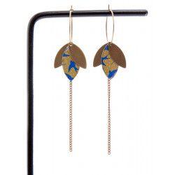SUZANNE boucles d'oreilles Hirondelles