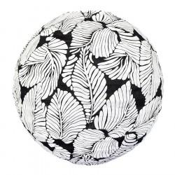 Lampion tissu boule japonaise rond Sumatra