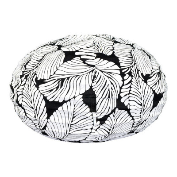 Lampion tissu boule japonaise ovale Sumatra