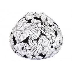 Lampion tissu boule japonaise goutte Sumatra