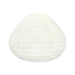 Lampion tissu boule japonaise goutte Plumetis