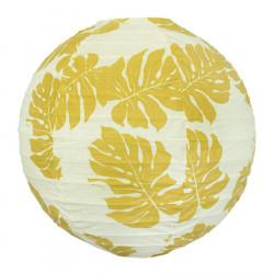 Lampion tissu boule japonaise rond Montserrat