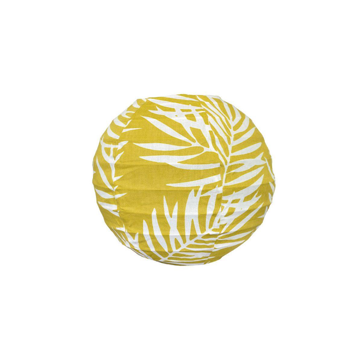 Mini lampion tissu Fougère