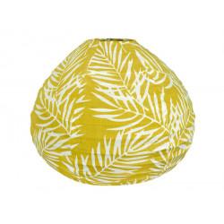 Lampion tissu boule japonaise goutte Fougère