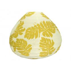 Lampion tissu boule japonaise goutte Montserrat