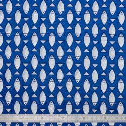 Tissu coton Poissons