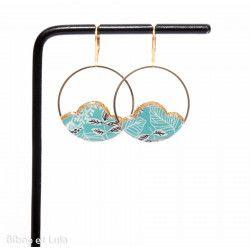 CAMELIA boucles d'oreilles Tropical Turquoise