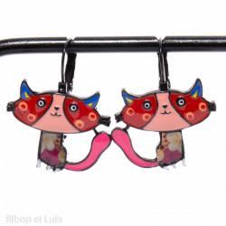 Boucles d'oreilles Minette