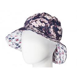 Chapeau coton réversible enfant Kitami