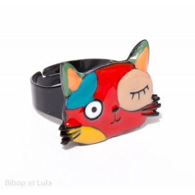 Bague Chat Malicieux