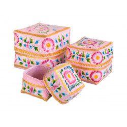 Boites à offrande peintes Gypsy Rose