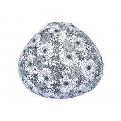 Lampion tissu boule japonaise goutte Bouquet