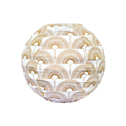 Mini lampion tissu Grue