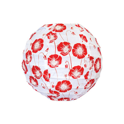 Mini lampion tissu Poppy