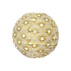 Mini lampion tissu Solas Gold