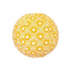 Mini lampion tissu Solas Moutarde