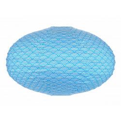 Lampion ovale Nami Bleu