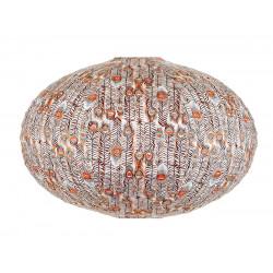 Lampion ovale Pikok orange