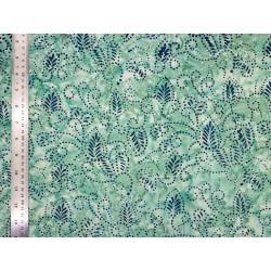 Coton Batik Dentelle Jade