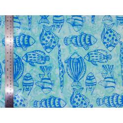 Coton Batik Fish