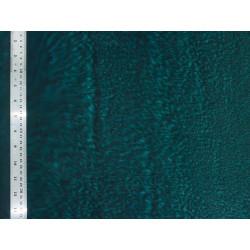 Coton Batik Marbré Bleu Pétrole