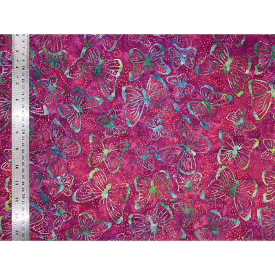 Coton Batik Rainbow Butterfly