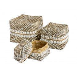 Boites à offrande perles Lovina
