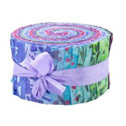 Jelly roll tissu Lavande