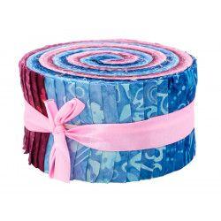 Jelly roll tissu Myrtille