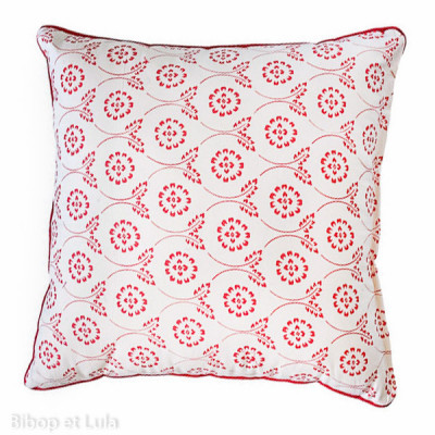 Coussin carré Red Tinta