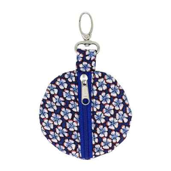 Porte-clé porte-monnaie rond Daisy