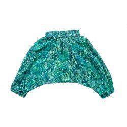 Pantalon sarouel léger Nuage vert