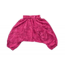 Pantalon sarouel léger rose framboise
