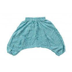 Pantalon sarouel léger Flocons
